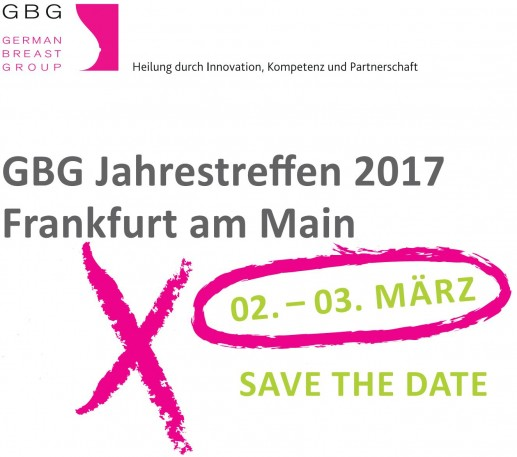 GBG Annual Meeting 2017 - Save the Date!
